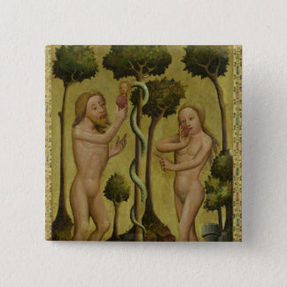 The Fall, detail from the Grabow Altarpiece Button