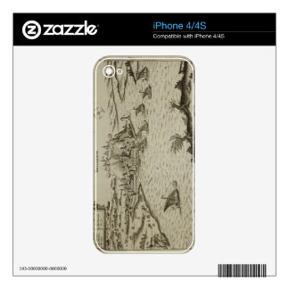 The Fall of Belgrade to the Turks in 1521, illustr Decals For The iPhone 4