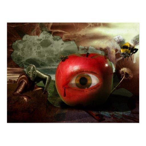 The Fall of Eden's Garden Postcard