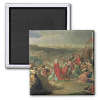 The Fall of Granada in 1492, 1890 Magnet