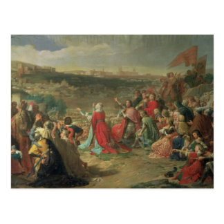 The Fall of Granada in 1492, 1890 Postcard