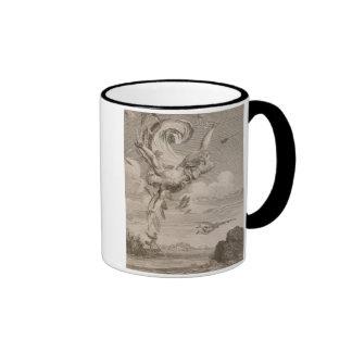 The Fall of Icarus, 1731 (engraving) Ringer Mug
