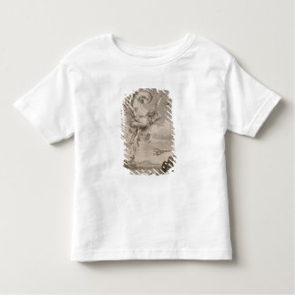 The Fall of Icarus, 1731 (engraving) Toddler T-shirt