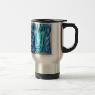 The Fall of Icarus (naive expressionism) Coffee Mug