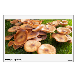 The Fall of Mushrooms Wall Decal