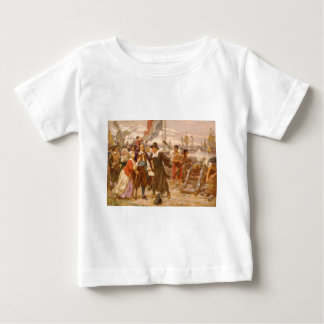 The Fall of New Amsterdam Jean Leon Gerome Ferris Baby T-Shirt