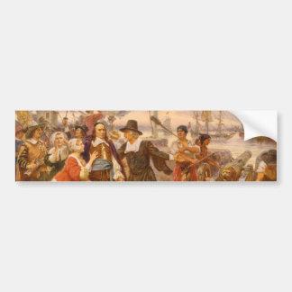 The Fall of New Amsterdam Jean Leon Gerome Ferris Bumper Stickers