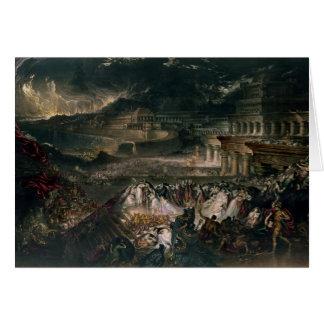 The Fall of Nineveh Card