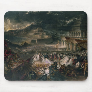 The Fall of Nineveh Mouse Pad