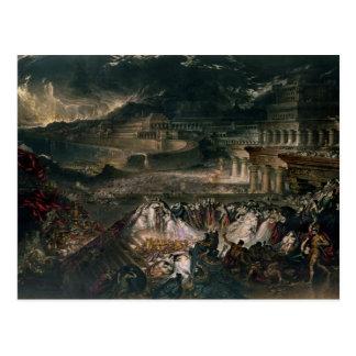 The Fall of Nineveh Postcard