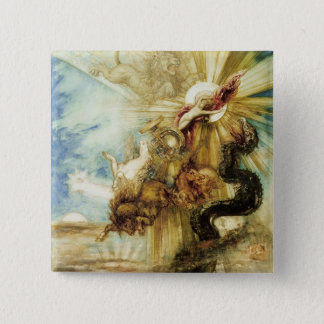The Fall of Phaethon (w/c on paper) Button