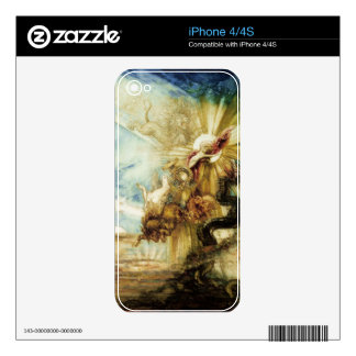 The Fall of Phaethon (w/c on paper) Decal For iPhone 4