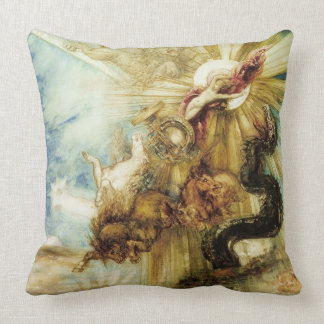 The Fall of Phaethon (w/c on paper) Throw Pillow