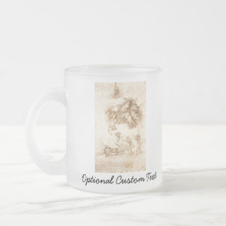The Fall of Phaeton Frosted Glass Coffee Mug