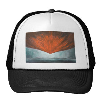 The Fall of Phoenix Bird (abstract surrealism) Trucker Hat