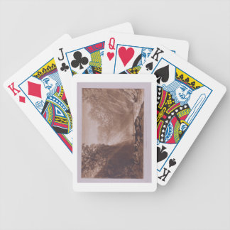 The Fall of the Clyde, engraved by Charles Turner Bicycle Playing Cards