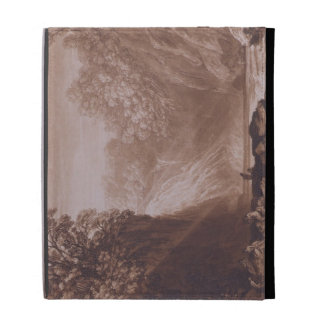 The Fall of the Clyde, engraved by Charles Turner iPad Folio Cases