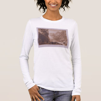 The Fall of the Clyde, engraved by Charles Turner Long Sleeve T-Shirt