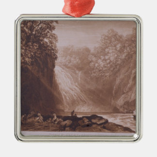 The Fall of the Clyde, engraved by Charles Turner Metal Ornament