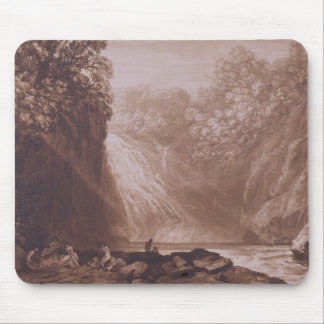 The Fall of the Clyde, engraved by Charles Turner Mouse Pad