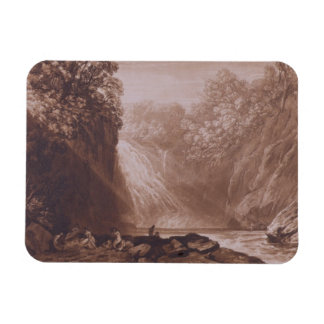 The Fall of the Clyde, engraved by Charles Turner Rectangular Photo Magnet