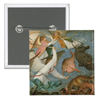 The Fall of the Rebel Angels, 1562 2 Inch Square Button