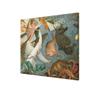 The Fall of the Rebel Angels, 1562 Canvas Print