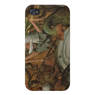 The Fall of the Rebel Angels, 1562 iPhone 4 Cover