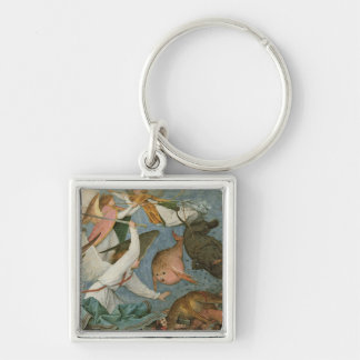 The Fall of the Rebel Angels, 1562 Key Chain