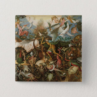 The Fall of the Rebel Angels, 1562 Pinback Button