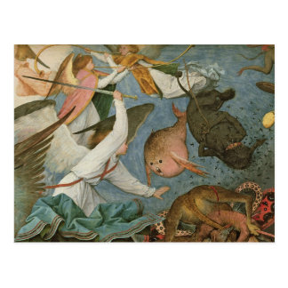 The Fall of the Rebel Angels, 1562 Post Card