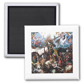 The Fall of the Rebel Angels by Pieter Bruegel Magnet