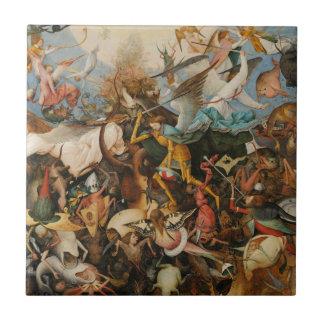 The Fall of the Rebel Angels - Pieter Bruegel 1562 Ceramic Tile