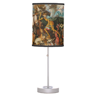 The Fall of the Rebel Angels - Pieter Bruegel 1562 Desk Lamp