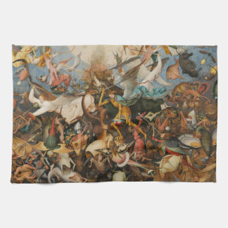 The Fall of the Rebel Angels - Pieter Bruegel 1562 Hand Towel
