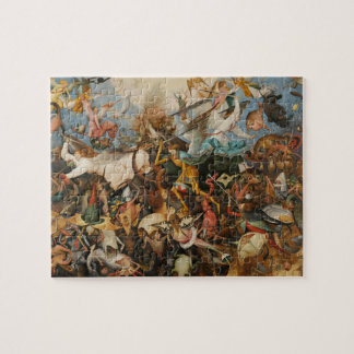 The Fall of the Rebel Angels - Pieter Bruegel 1562 Jigsaw Puzzle
