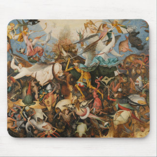The Fall of the Rebel Angels - Pieter Bruegel 1562 Mouse Pad