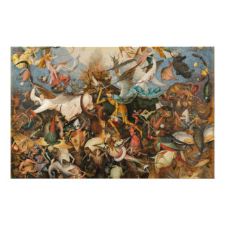 The Fall of the Rebel Angels - Pieter Bruegel 1562 Stationery