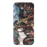 The Fall Of The Rebel Angels - Pieter Bruegel Covers For iPhone 5