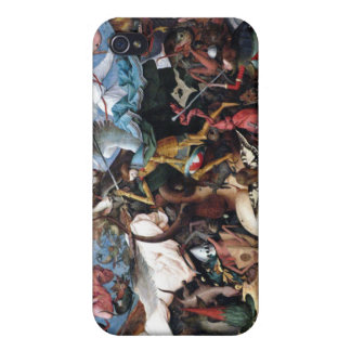 The Fall Of The Rebel Angels - Pieter Bruegel iPhone 4/4S Cases