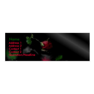 The fallen darkness Double-Sided mini business cards (Pack of 20)