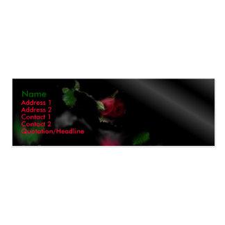 The fallen darkness mini business card