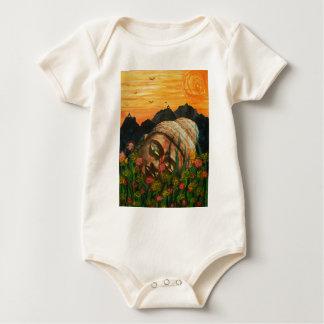 The fallen idol baby bodysuit