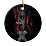 The Fallen Soldier Christmas Ornament