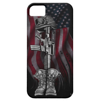 The Fallen Soldier iPhone SE/5/5s Case