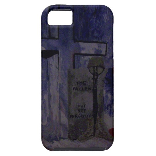 The Fallen Warriors Tribute iPhone SE/5/5s Case