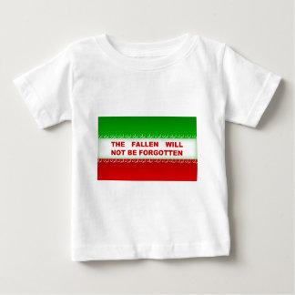 The fallen will not be forgotten baby T-Shirt