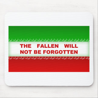 The fallen will not be forgotten mouse pad