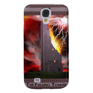 The Falling Tower Tarot Card Art Samsung Galaxy S4 Cover