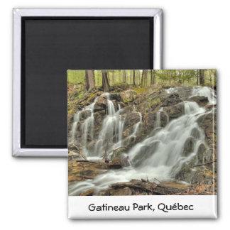 The Falls at Mackenzie King Estate Gatineau Park Refrigerator Magnet